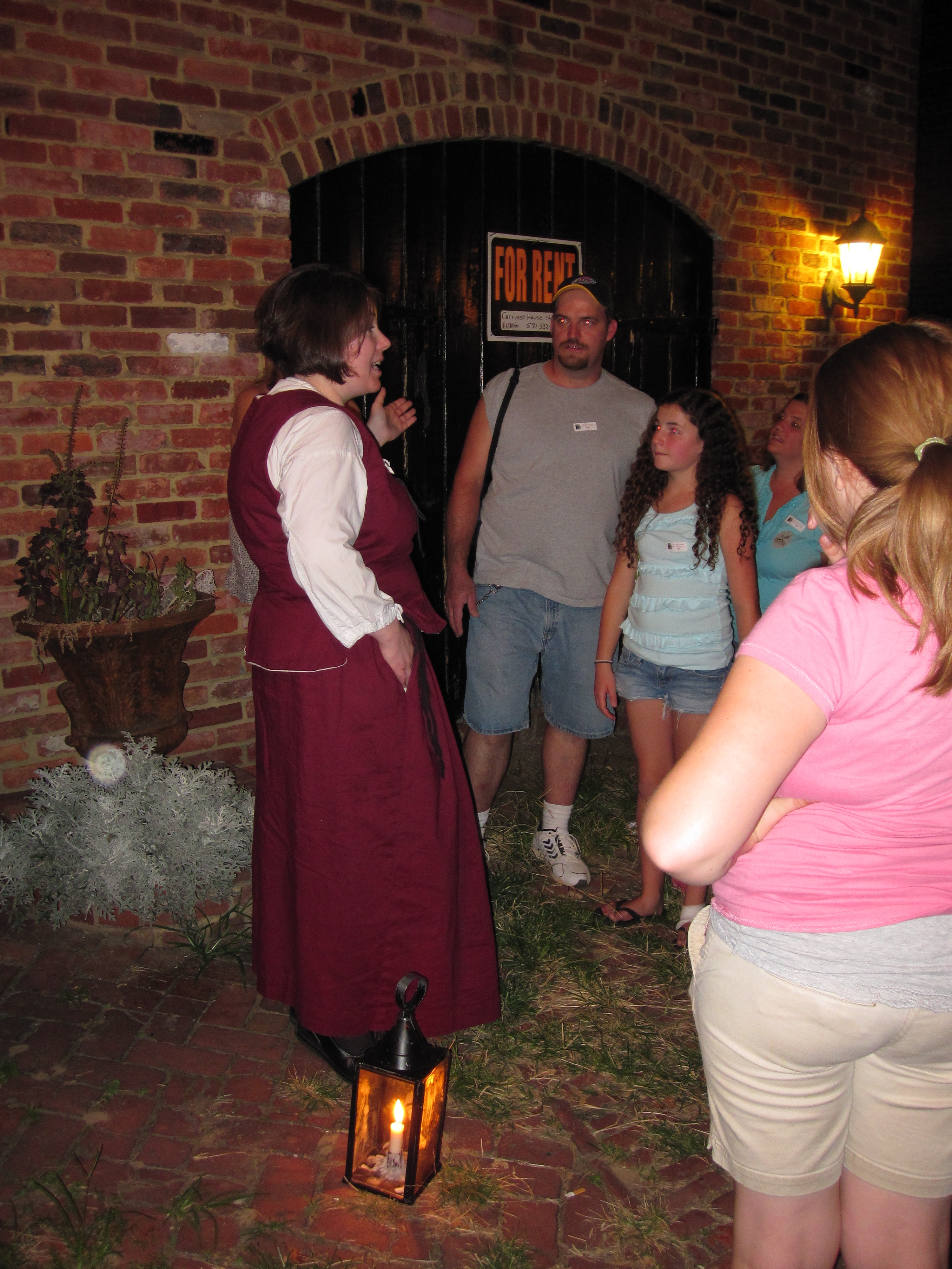 Alexandria Ghost And Graveyard Tour