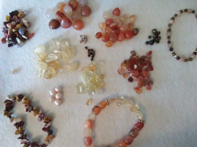fall stone jewelry