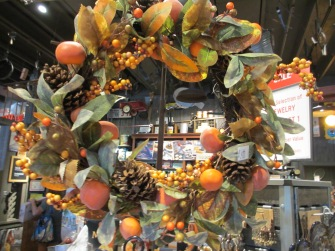 Cracker Barrell Autumn wreath