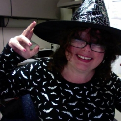 mary witch hat